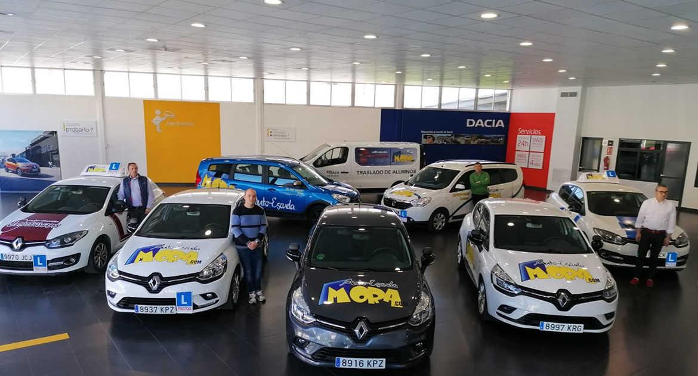 Gama Renault en Autoescuela Mora